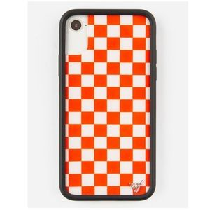Wildflower Red Checkered iPhone 6/7/8 PLUS Case